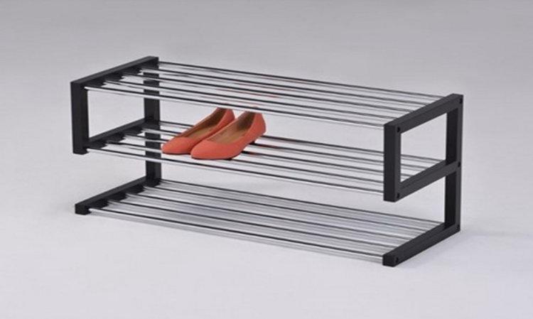 Металлическая подставка под обувь в прихожую своими руками